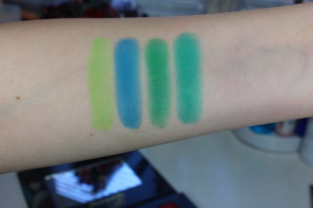 Sedona Lace Mermaids Palette swatches 3